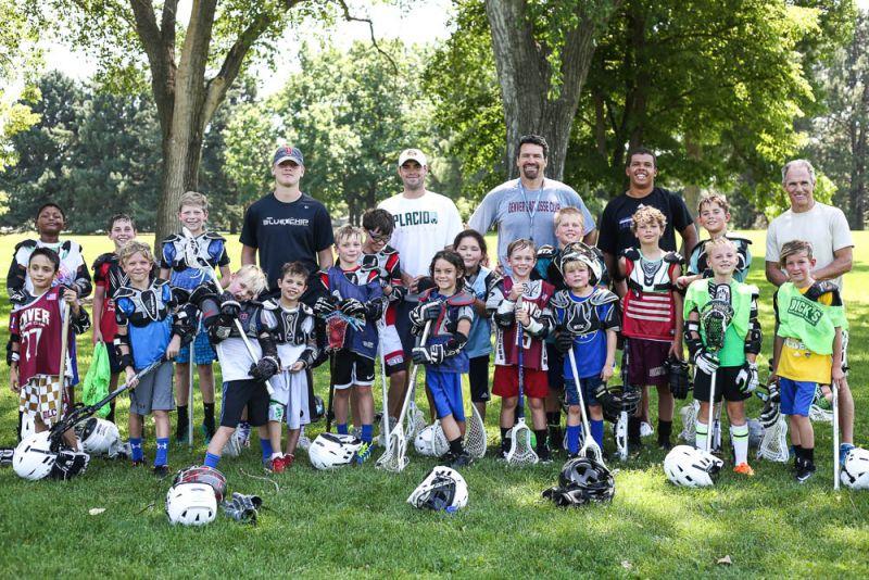 Lacrosse Team Group Shot at Dream Big Summer Day Camp | Hilltop Denver and Greenwood Village