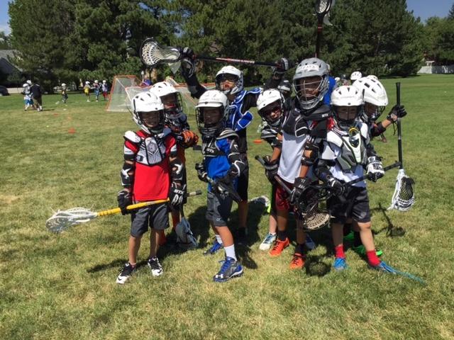 Lacrosse Team Group Photo at Dream Big Summer Day Camp | Hilltop Denver and Greenwood Village