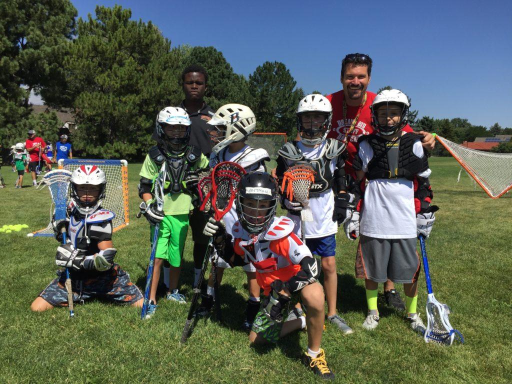 Lacrosse Team at Dream Big Summer Day Camp | Hilltop Denver and Greenwood Village