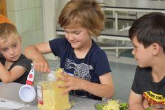 Kids Cooking at Dream Big Summer Day Camp | Hilltop Denver and Greenwood Village