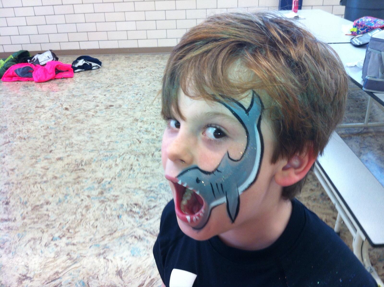 Boy Wearing Face Paint at Dream Big Summer Day Camp | Hilltop Denver and Greenwood Village