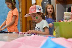 Girl Doing Arts and Crafts at Dream Big Summer Day Camp | Hilltop Denver and Greenwood Village